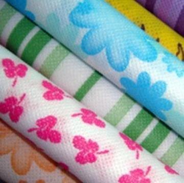 Flower/ Animal/ Customer design printed pp nonwoven fabric