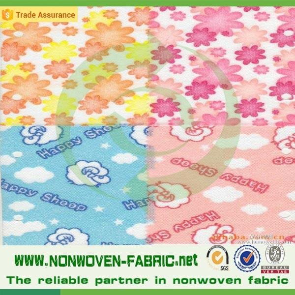 cheap price PP spunbond printed lamination nonwoven fabric