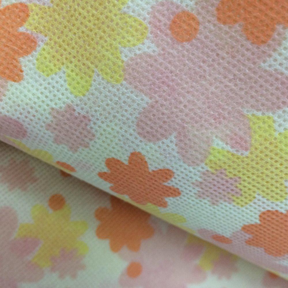 Printed nonwoven fabric/nonwoven interlining fabric/pp spunbond nonwoven printed fabrics