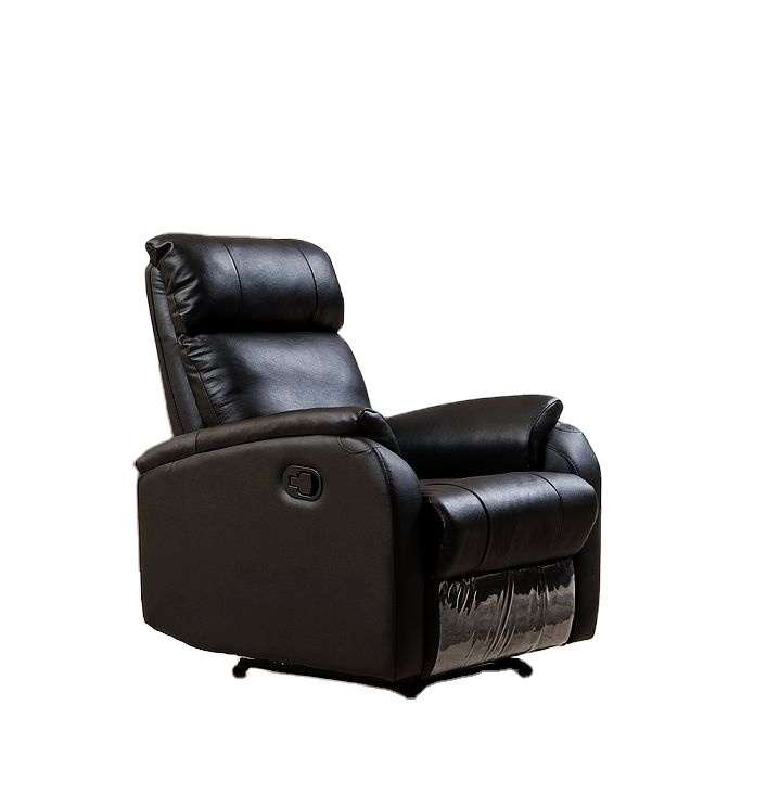 High Quality Lazy Recliner Sofa Sets,black Leather single chair Recliner