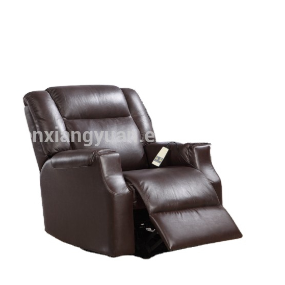 Chinese top grain leatherpower recliner lift chair for elder or pregnant need assistant rise D10