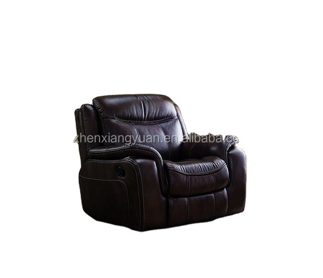 2021 furniture Living room furniture brown air leathermanual luxury Reclining chair functional sofas
