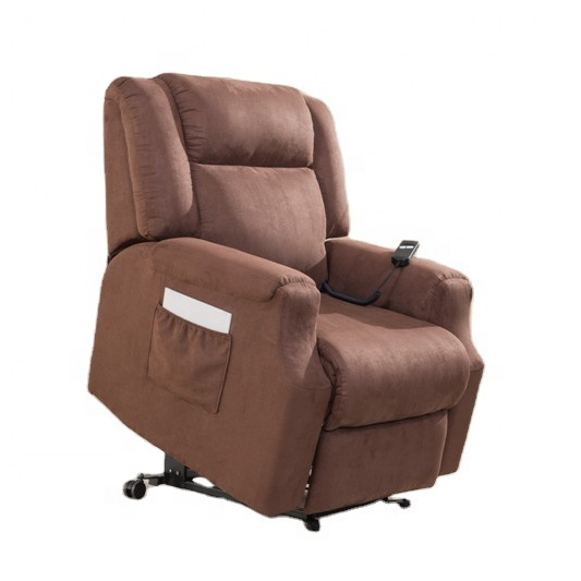 fabric power recliner lift chair for assistant rise with massage and heat D10