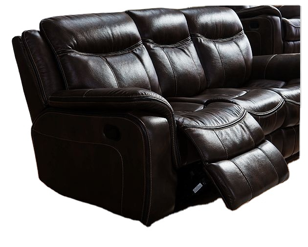 Manual Wall Recliner Chair grain Leather chair for living room sofas