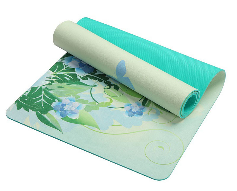 183*61cm*5mm Suede Yoga Mat Eco-friendly Slip-resistant Best Yoga Mat Folding Gym Fitness Mats Pilates Yoga Mat