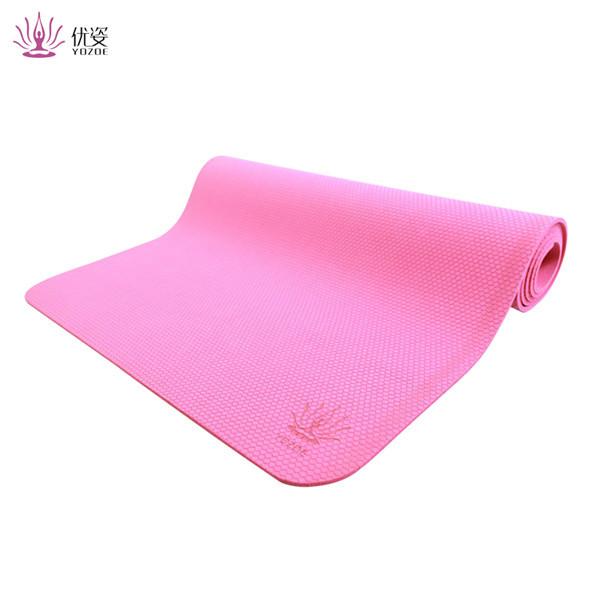 2018 high quality custom printing eco friendly bamboo yoga mat