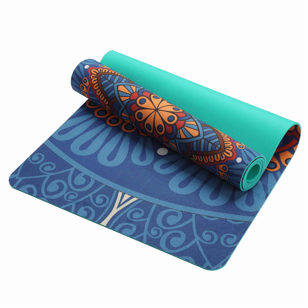 New style Suede Thick Durable Yoga Mat Pilates Non-slip big size yoga towel mat