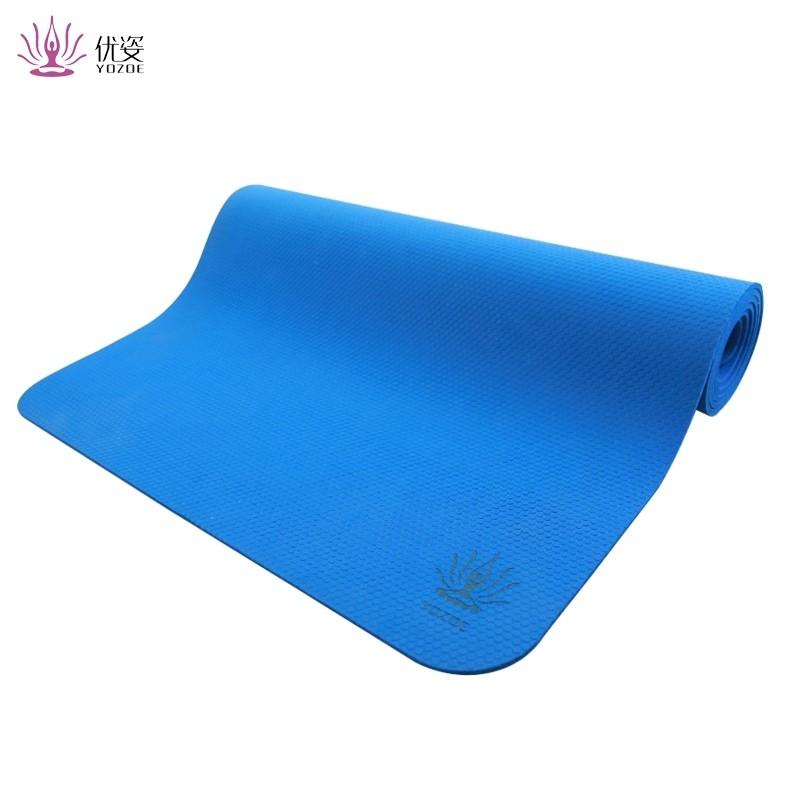 Rubber Yoga Mat/ Washable Yoga Mat as Fitness Equipment/Custom Made Yoga Mats Customized Design