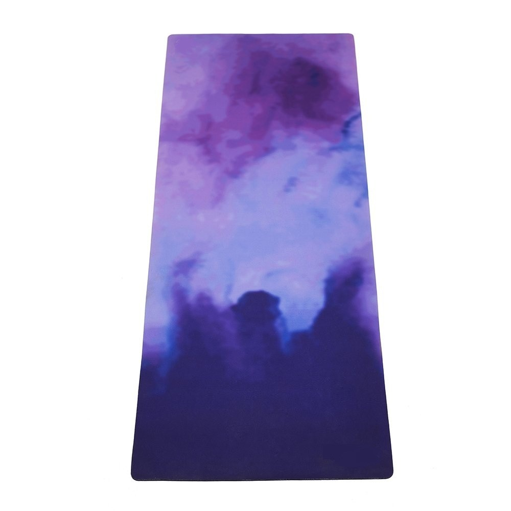 Travel Yoga Mat with Mat Bind and Elastic String,Non-Slip,Light weighted,Foldable,Eco Friendly,Ideal for Hot Yoga