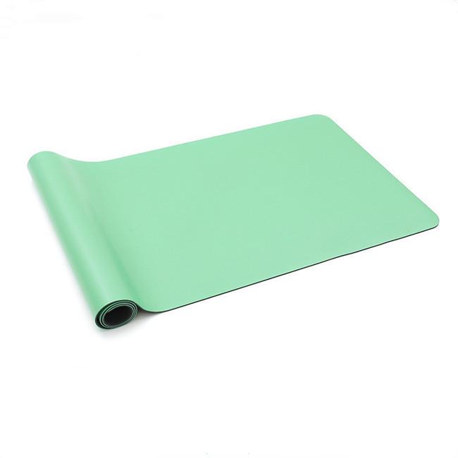 New design customised yoga mat, natural rubber pu yoga mat foldable