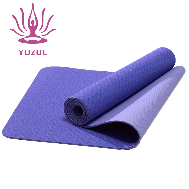 Tigerwings friendly tpe yoga mat cover with carrying strap