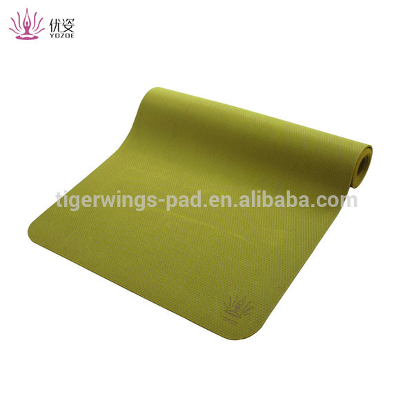 Promotion of high quality sports yoga mats with custom pattern specifications yoga mats
