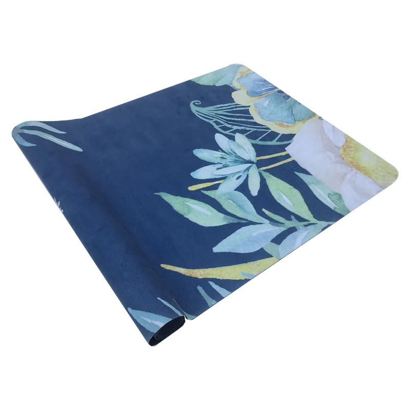 Tigerwings high quality unique natural rubber yoga mat custom print yoga mat towel