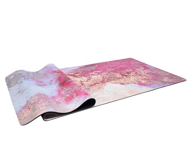 Anti Slip Thick Yoga Mat Heat,non-phthalate natural rubber yoga mat,anti-slip soft yogamat
