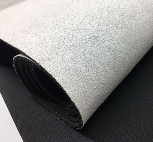 Foldable blank yoga towel, natural rubber suede yoga mat for printing