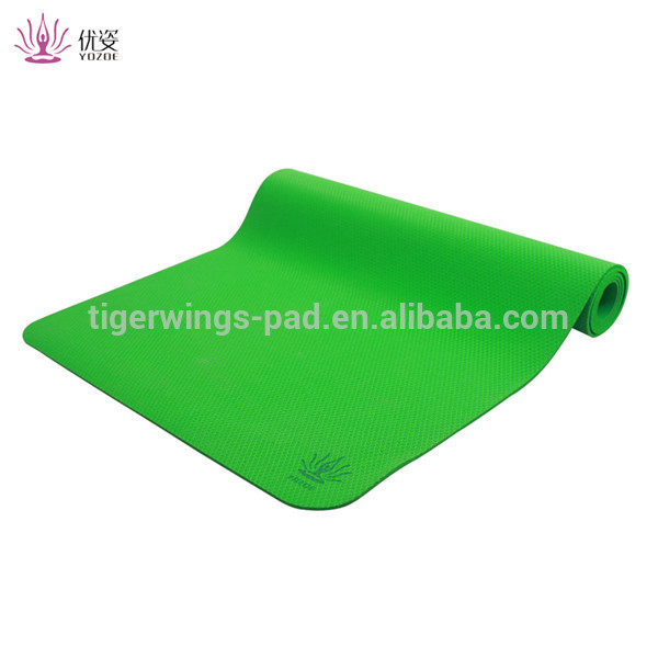 Best quality private label rubber material yoga mats
