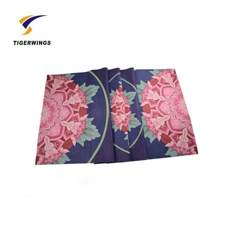 Cheap folding decorative unique yoga mat manufacturer