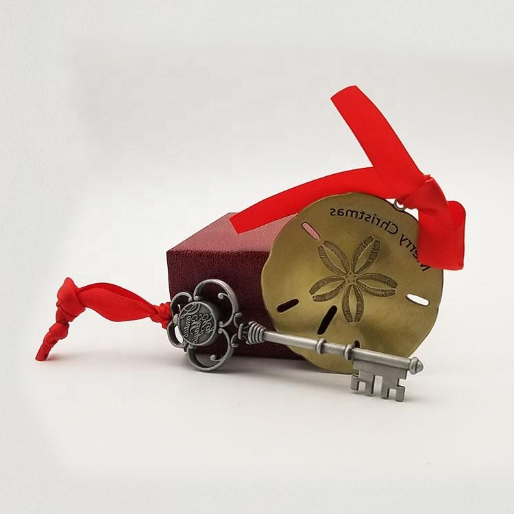 Zinc alloy anti bronze plating coating 3D commemorative metal souvenir plate for Christmas gifts