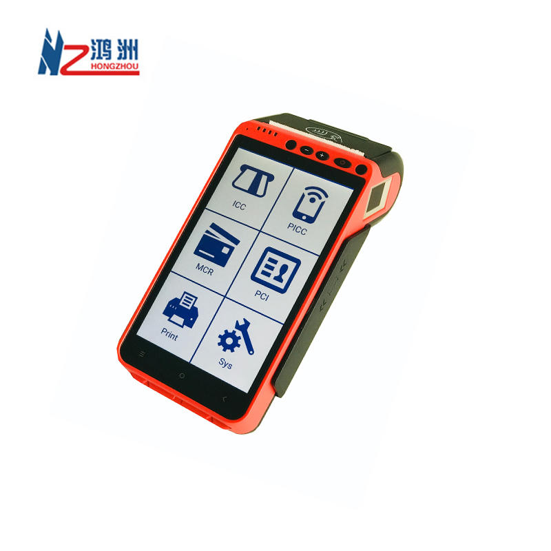 Mobile POS Terminal Touch Screen restaurant Android POS with NFC reader