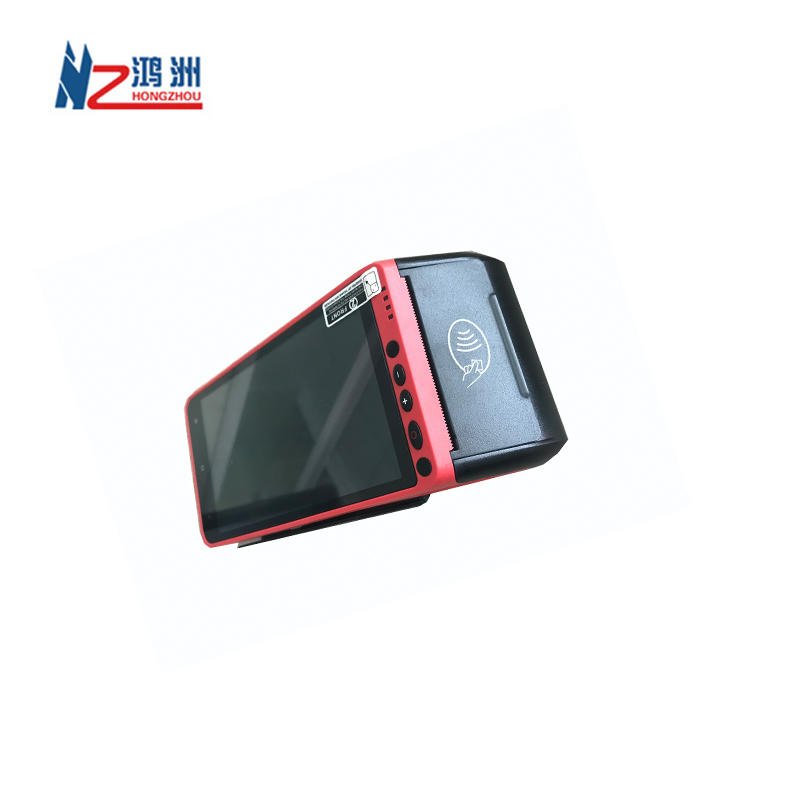 Android POS system Capacitive Touch Screen Terminal NFC Handheld gas station ticketing/betting China POS Devices