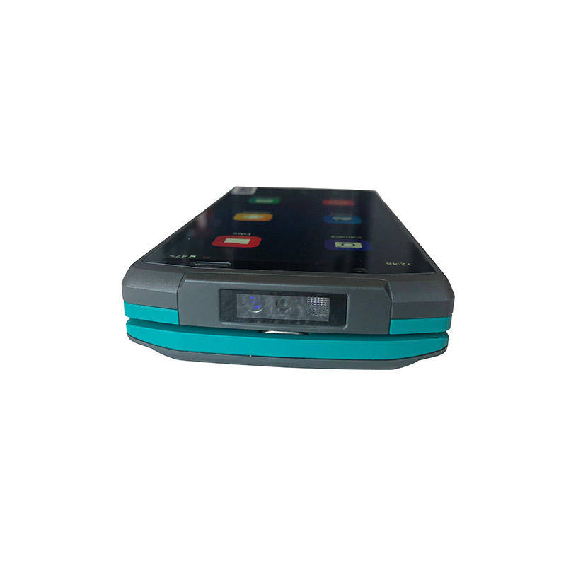 Mini Touch Screen Handheld Android Smart NFC Terminal POS With Printer Bar Code QR Code Scanning