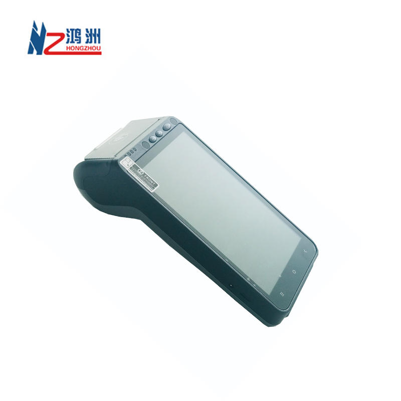Android Smart Pos with Thermal Printer and Fingerprint