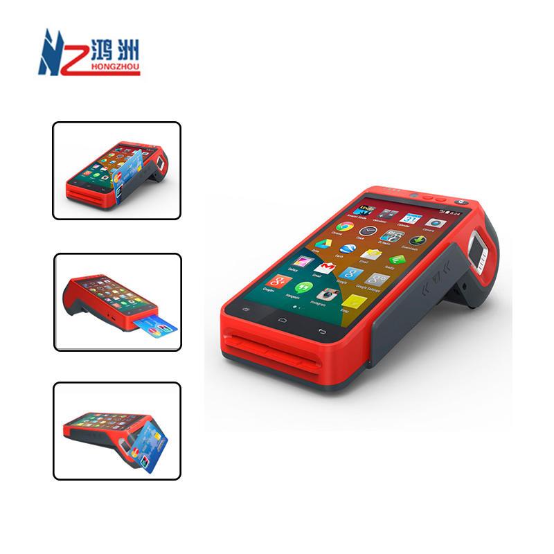3G/4G/WIFI Smart Payment Terminal Portable POS With Fingerprint