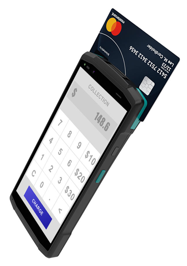 POS Terminal Android System Point of Sale Machine With Camera Wifi NFC EMV MSR