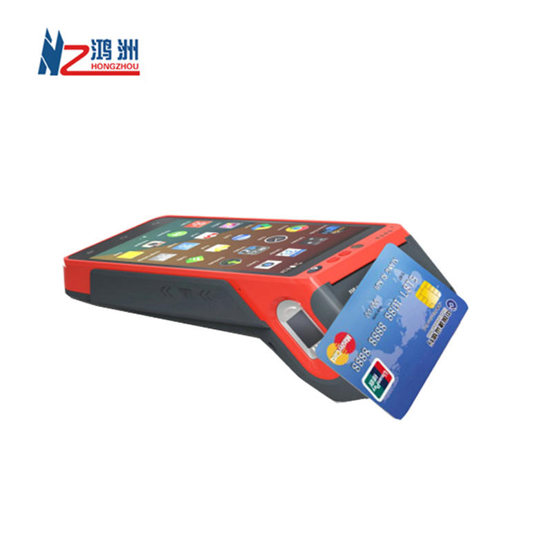 4G Smart Payment Portable Android Mobile POS Terminal With fingerprint