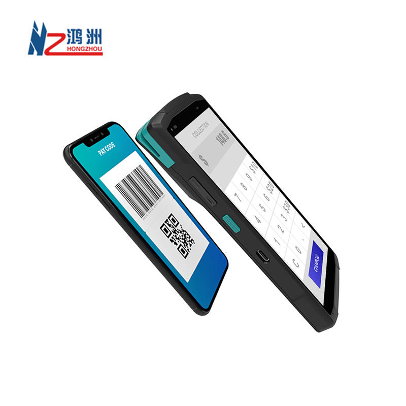 Durable and Solid Android 10 Handheld POS Terminal With Card reader