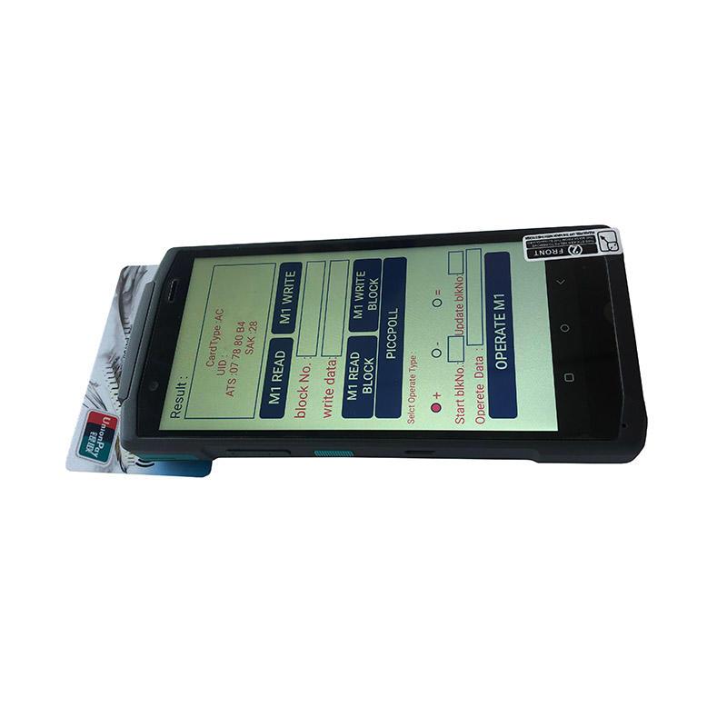 Warehouse industrial smart PDA android 5.7 handheld pos terminal Handheld Mobile Card Reader