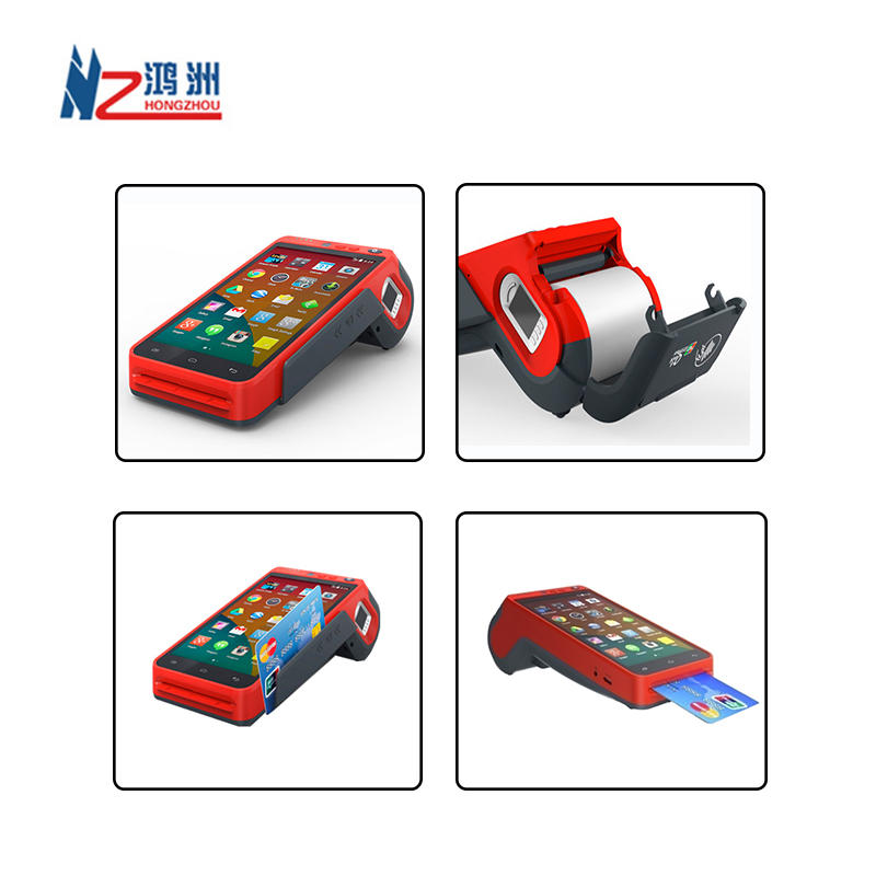 All In One Android 7.0 Handheld Smart POS Terminal