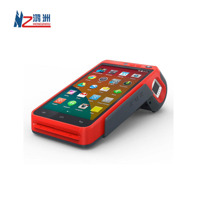 Mobile Android Pos Payment Terminal With Nfc Magnetic Card Reader And 7 Inch Touchscreen&3.5 Inch Display Bluetooth Wifi