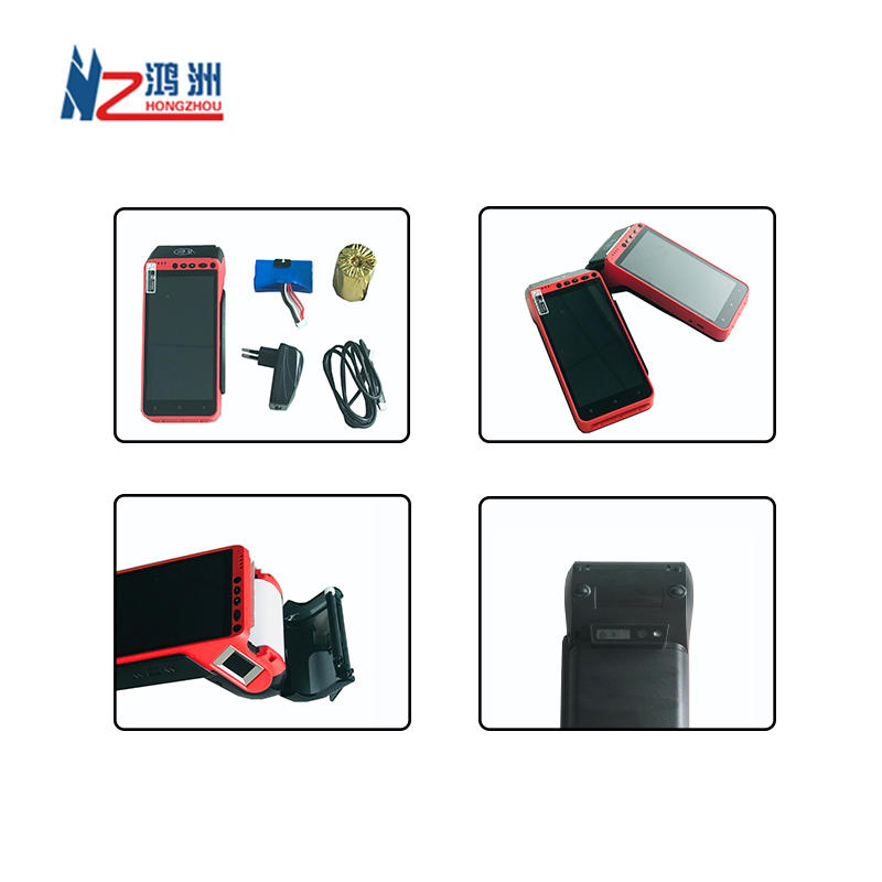 All in one Payment System Mobile POS Terminal with Card Reader and Printer