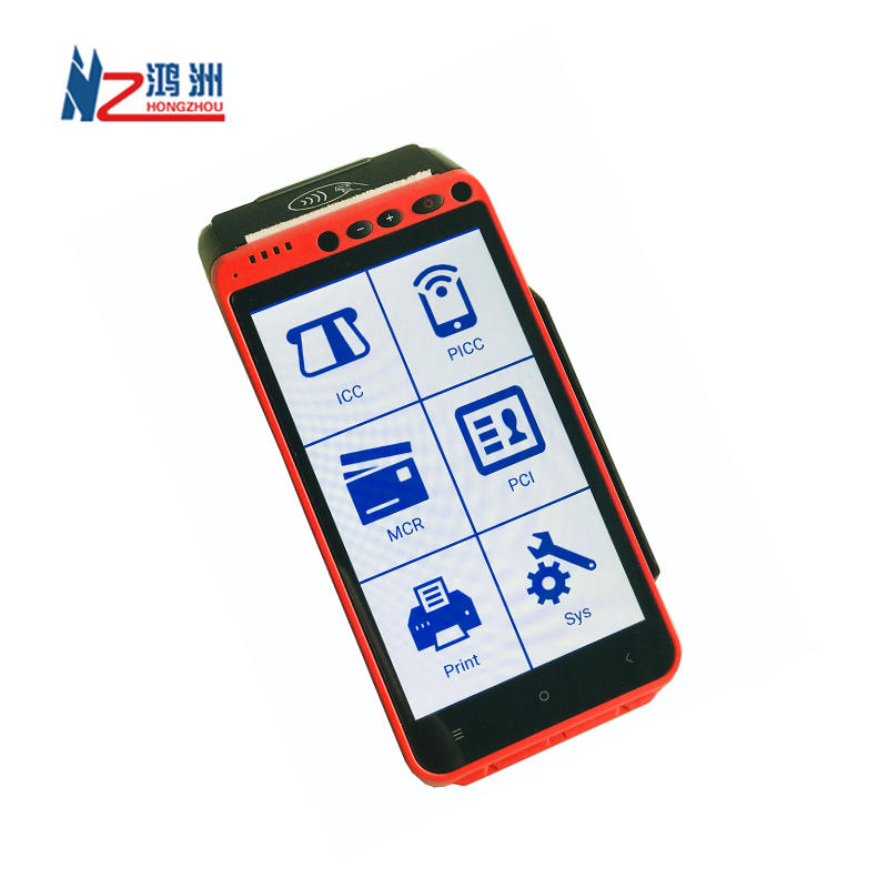2019 Hot Sale Touch Screen Pos Android Smart Mobile Payment Terminal Handheld Pos