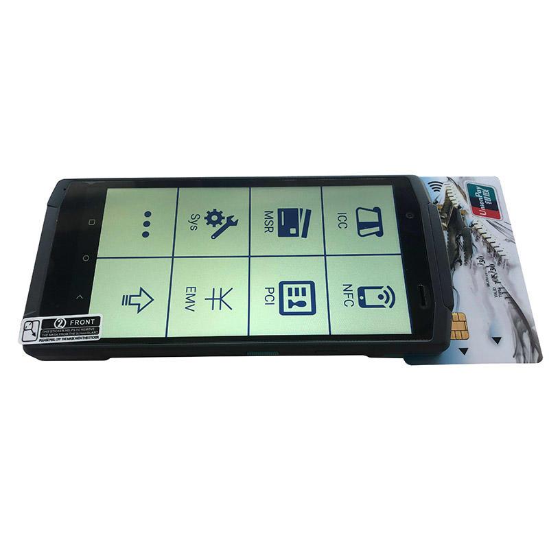 4G Handheld POS Terminal with 58mm Thermal Printer