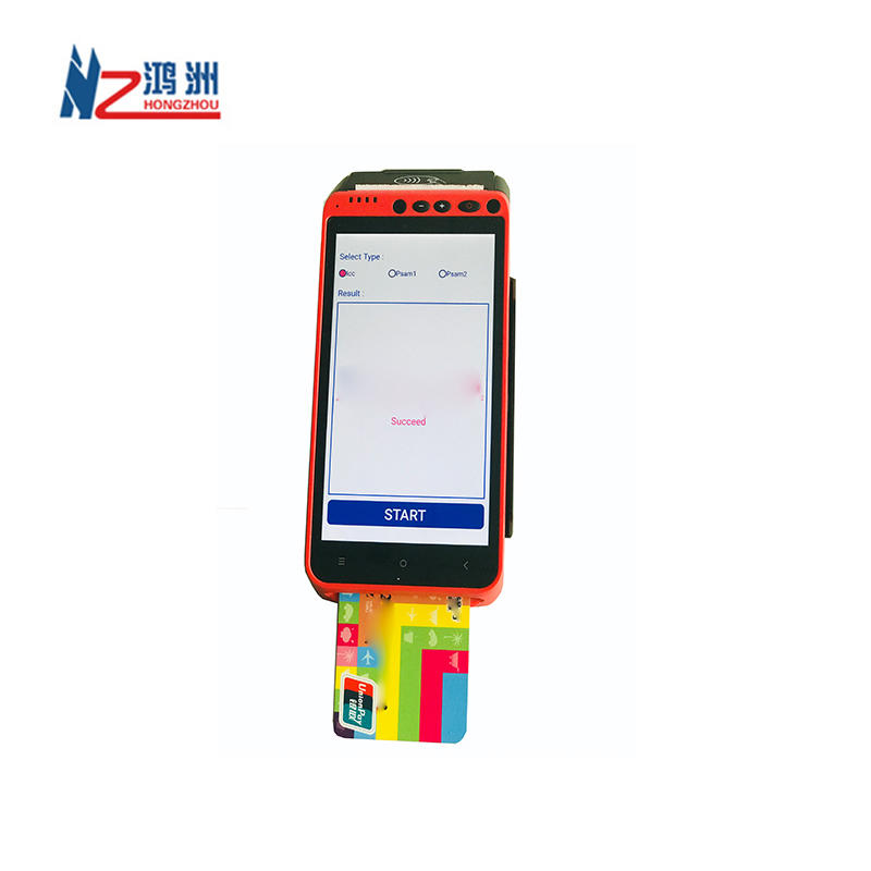 Smart All-in-one Handheld Android Mobile Pos Terminal With Integrated Printer/Barcode Scanner/ Nfc Reader