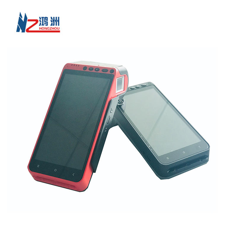5.5 Inch Android 7.0 touch screen Smart POS With Card reader