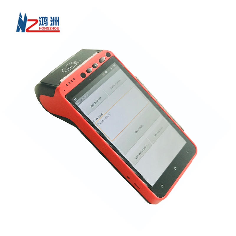 New Handheld Mini Qr Code Android Nfc Touch Screen Smart Wireless Pos Terminal