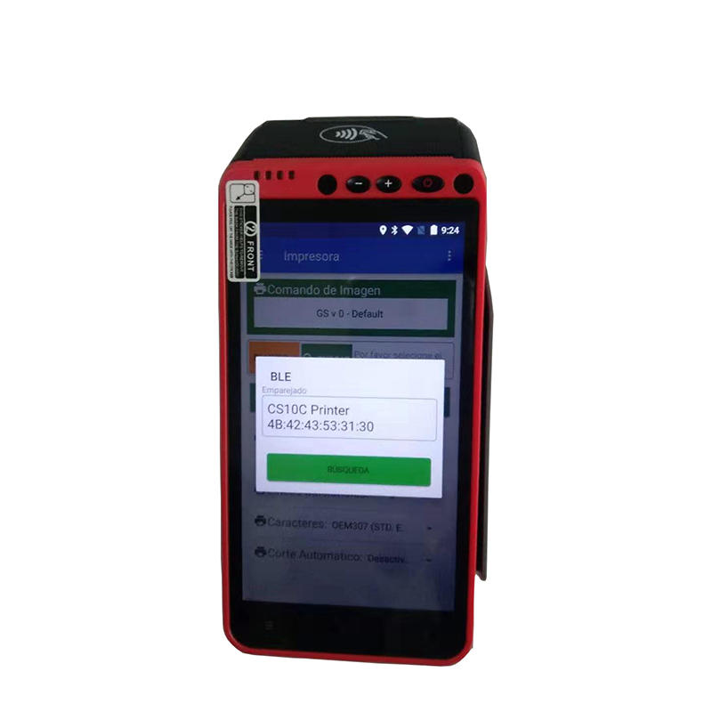 self service terminal machine with 5.5 inch screen with printing function Safedroid OS base on Android 7.0