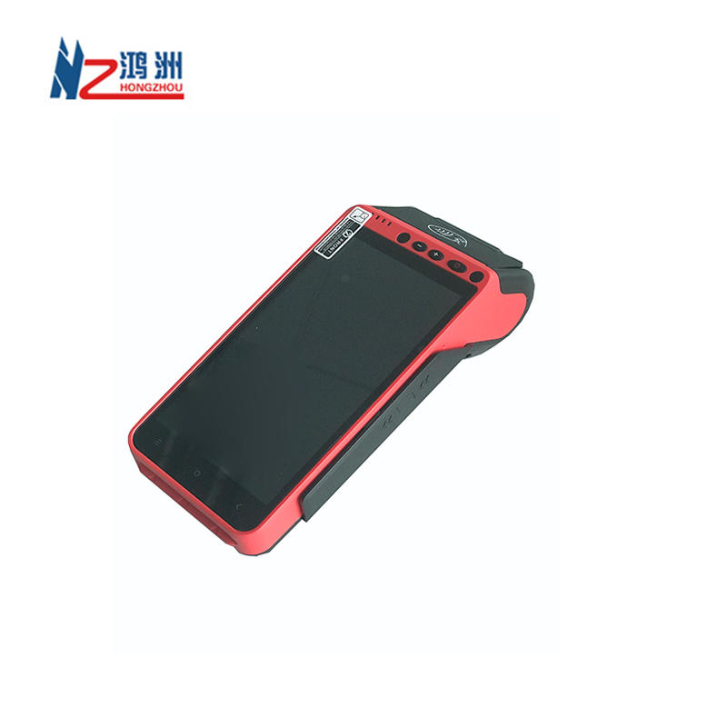 Fiscal Module Android Handhold Terminal Pos Secure Cashless Payment Device