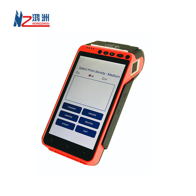 4G mobile POS Handheld Smart Device android wireless Android Pos Terminal with integrating scanning code payment