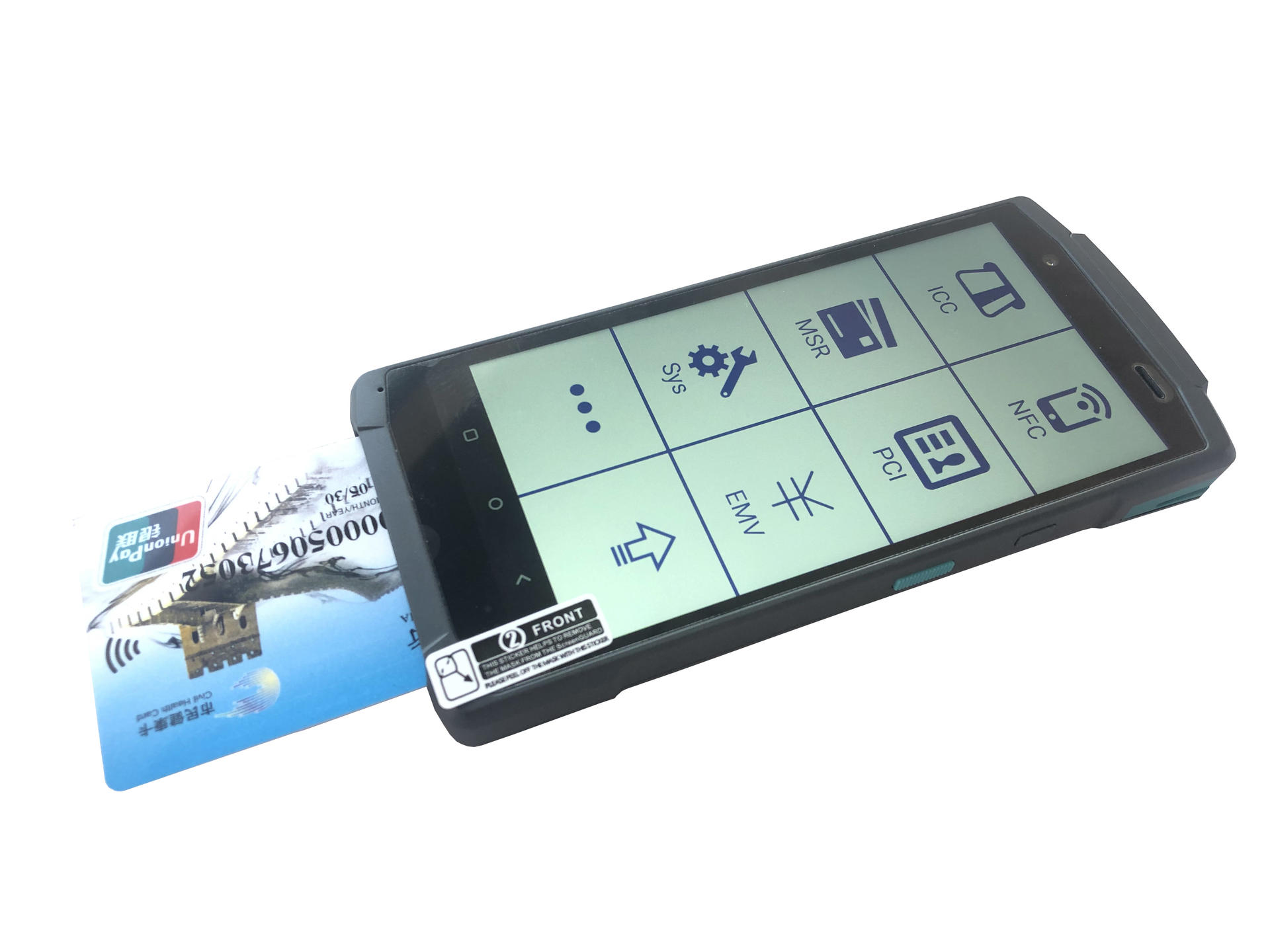 Prepaid Card Reader Smart Android POS Terminal For Wholesale