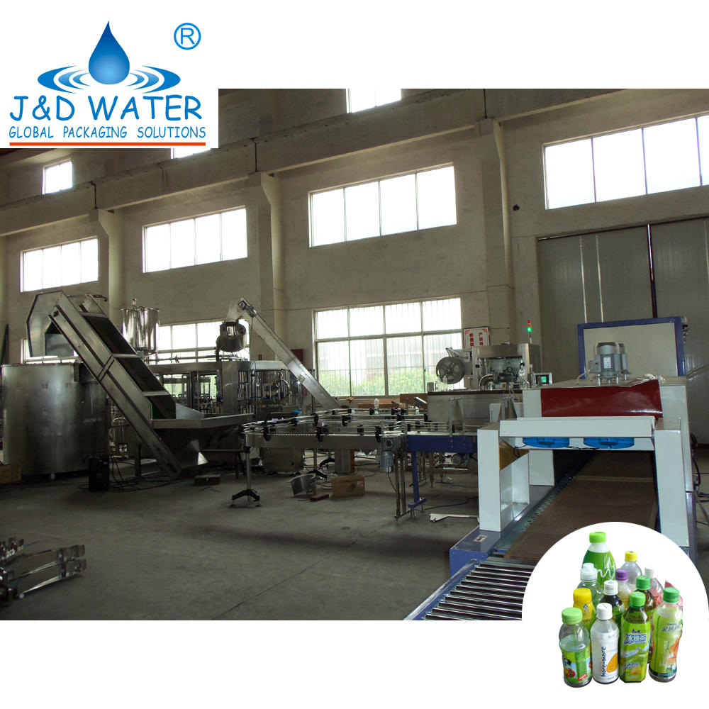 Automatic Beverage Production Line