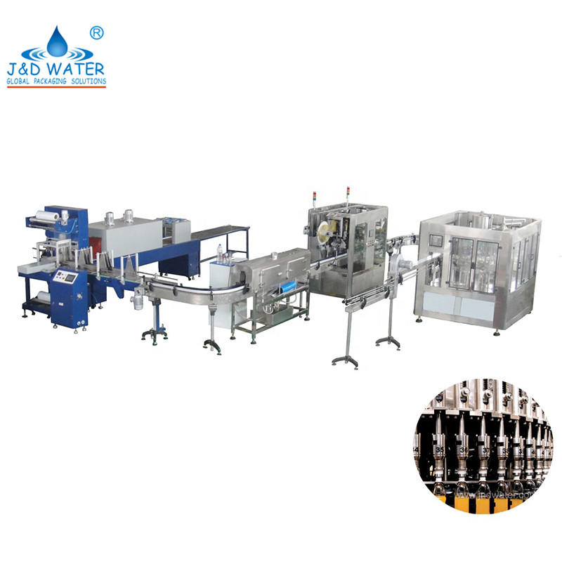 Automatic Fruit Juice Filling Machine Processing Production Plant Line For Sale