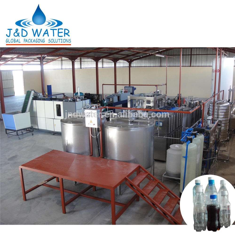 CE mark carbonated soft drinks bottling production line