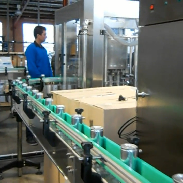 Complete Can Beverage Filling and Packaging Line