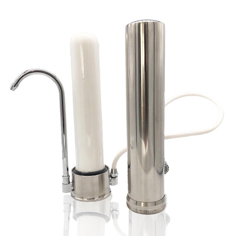 Manufacturer Supply Wholesale Countertop Water Ffiltration System Desktop Water Purification Filter Jug Water Purifier Machine