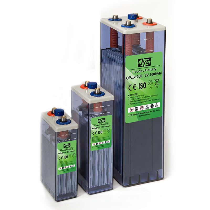 Batterie Opzs Solaire Opzs Solar Battery Container 2V 500Ah 600Ah 650Ah 1000Ah 2000Ah 3000Ah