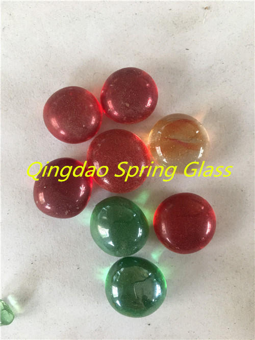 Spring Glass Pebbles for Decoration